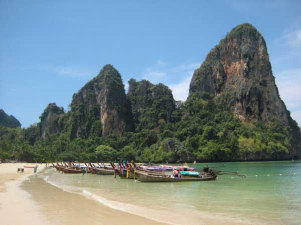 West Raily Thailand beach is one of the undiscovered diamonds in the rough